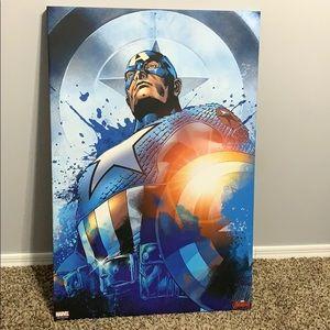 Captain America canvas